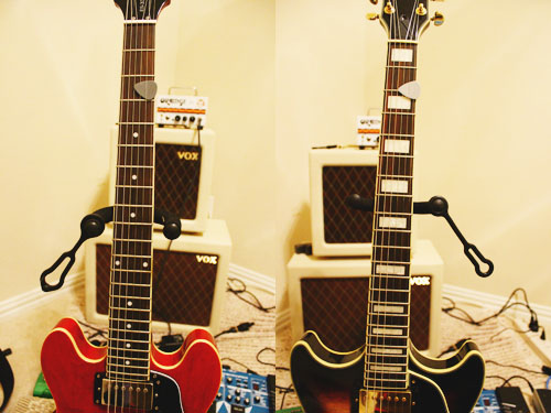 Epiphone 339 v Ibanez AM93 Neck